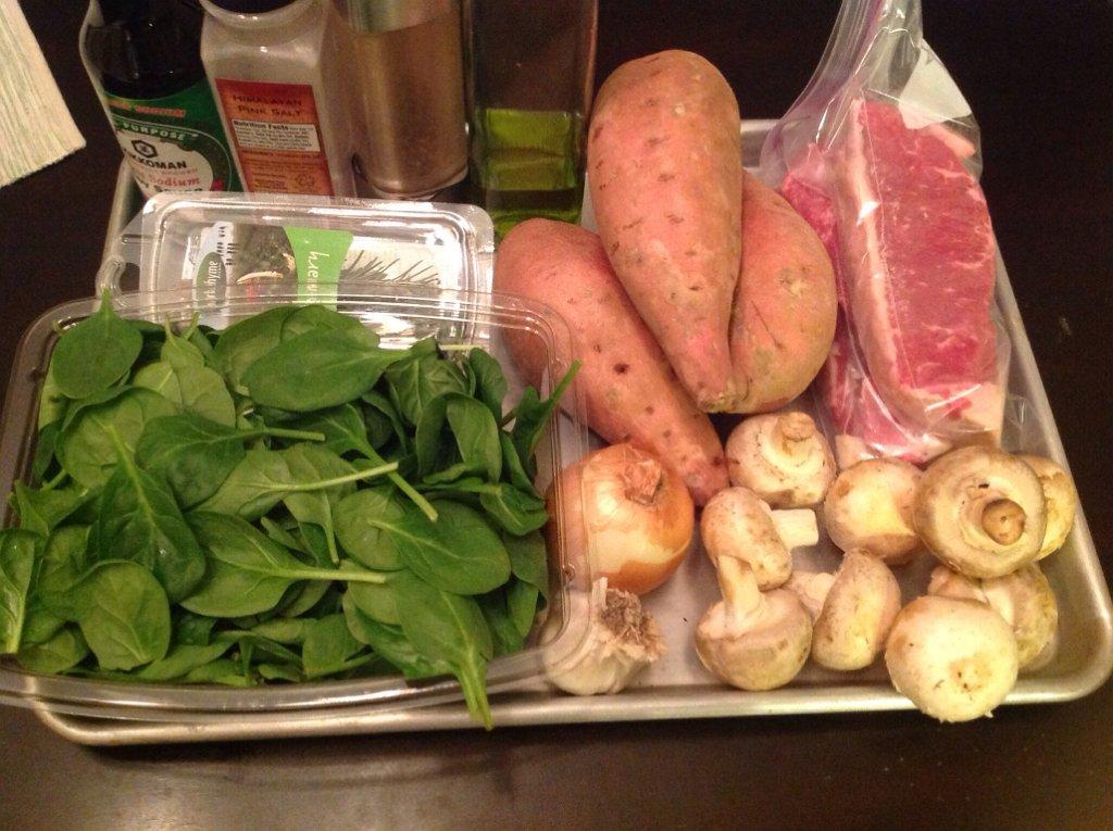 Strip Steak Ingredients