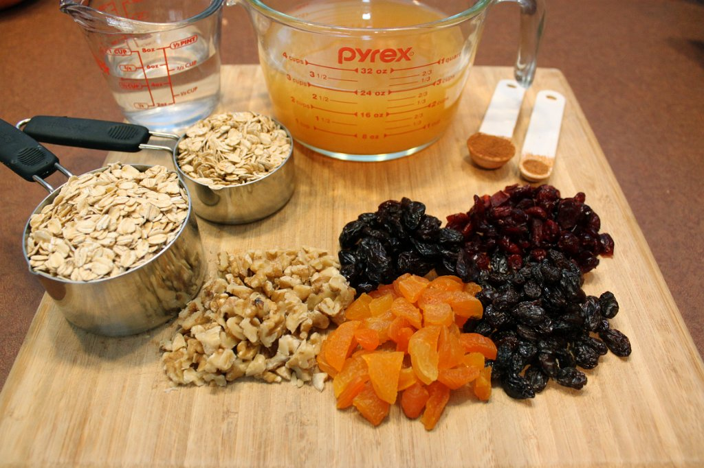 Apple Cider Oatmeal Ingredients