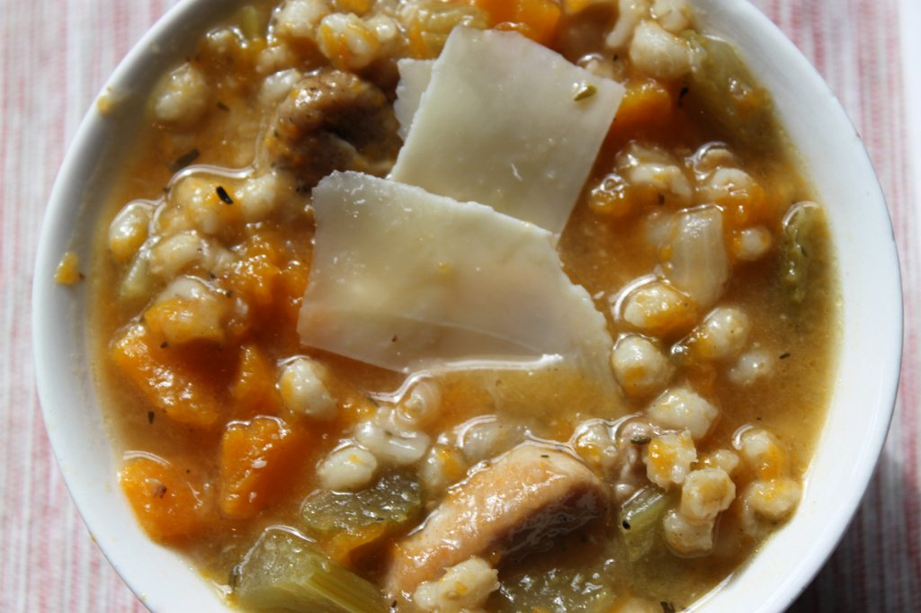 Pork and Barley Soup