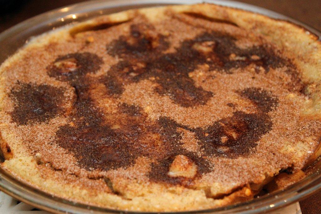 Cinnamon Apple Pancake