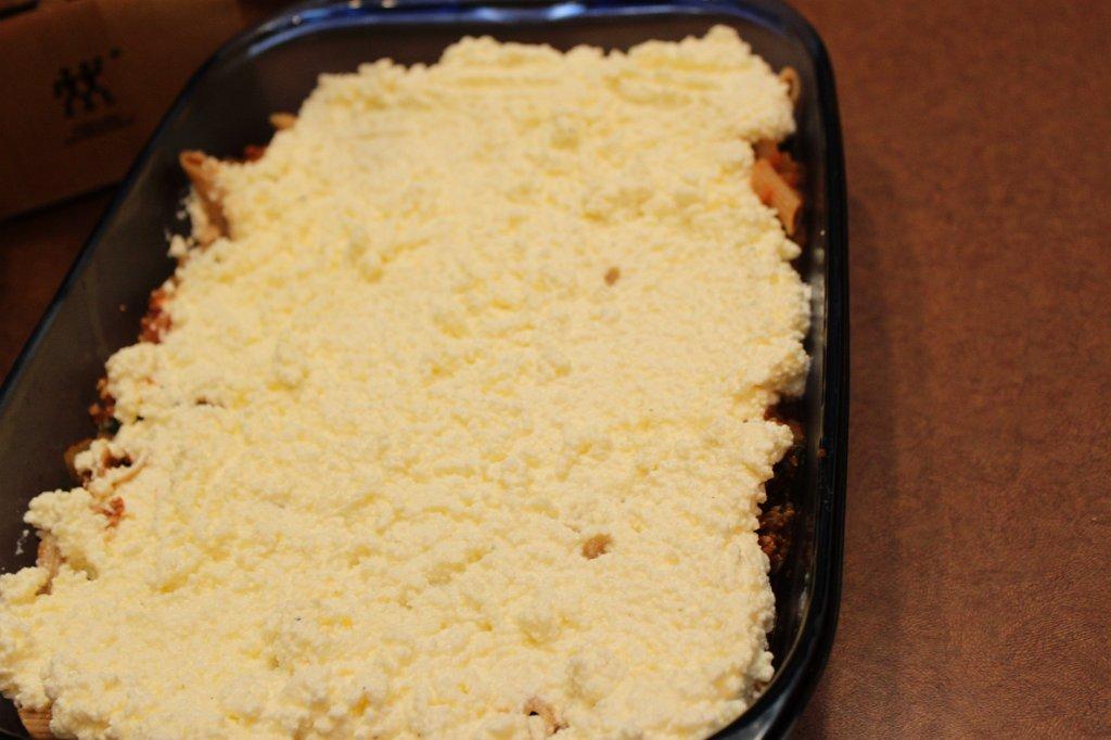 Pasta Ricotta Bake